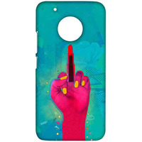 Lipstick Rebel Blue - Sublime Case for Moto G5 Plus