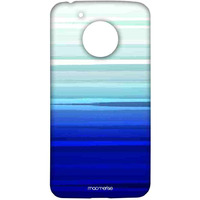 Blue Brush Strokes - Sublime Case for Moto G5
