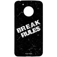 Break Rules - Sublime Case for Moto G5
