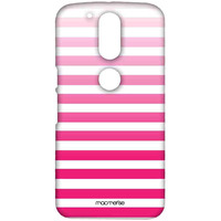 Stripe me Pink - Sublime Case for Moto G4 Plus