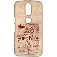 Harry Potter Infographic Red - Sublime Case for Moto G4 Plus