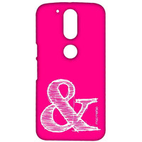 AND Pink - Sublime Case for Moto G4