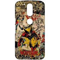 Comic Wolverine - Sublime Case for Moto G4