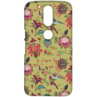 Payal Singhal Chidiya Olive - Sublime Case for Moto G4