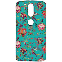 Payal Singhal Chidiya Teal - Sublime Case for Moto G4