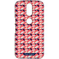 Payal Singhal Coral Navy - Sublime Case for Moto G4
