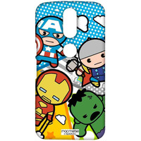 Kawaii Avengers - Sublime Case for Moto G4