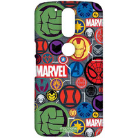 Marvel Iconic Mashup - Sublime Case for Moto G4