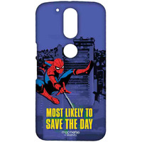 Spiderman Saves the Day - Sublime Case for Moto G4