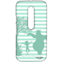 Mowgli and Baloo Stripes - Sublime Case for Moto G3
