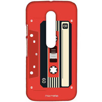 Casette Red - Sublime Case for Moto G3