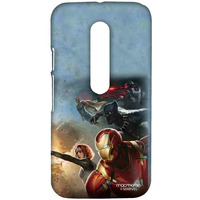 Team Ironman - Sublime Case for Moto G3