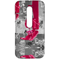 Masaba Pink Machine - Sublime Case for Moto G3
