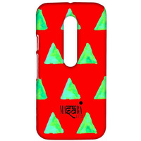Masaba Red Cone - Sublime Case for Moto G3