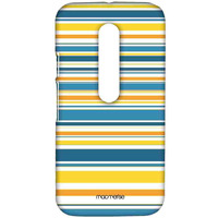 Stripe me Yellow - Sublime Case for Moto G Turbo