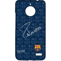 Autograph Iniesta - Sublime Case for Moto E4