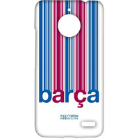 Barca Decoded - Sublime Case for Moto E4