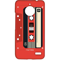 Casette Red - Sublime Case for Moto E4