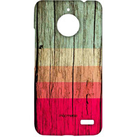 Wood Stripes Fuschia - Sublime Case for Moto E4