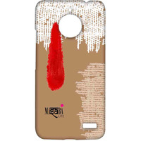 Masaba Red Tilak - Sublime Case for Moto E4