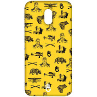 KR Yellow Collage - Sublime Case for Moto E3 Power