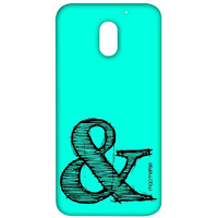 AND Teal - Sublime Case for Moto E3 Power
