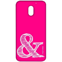 AND Pink - Sublime Case for Moto E3