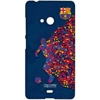 FCB Asymmetrical Art - Sublime Case for Microsoft Lumia 540