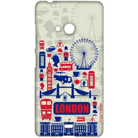 City of London - Sublime Case for Microsoft Lumia 540