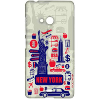 City of New York - Sublime Case for Microsoft Lumia 540