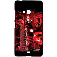 Age of Ultron - Sublime Case for Microsoft Lumia 540