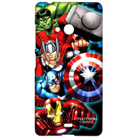 Avengers Fury - Sublime Case for Microsoft Lumia 540
