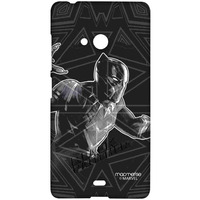 Black Panther Stare - Sublime Case for Microsoft Lumia 540