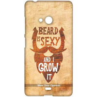 Beard is Sexy - Sublime Case for Microsoft Lumia 540