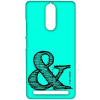 AND Teal - Sublime Case for Lenovo Vibe K5 Note