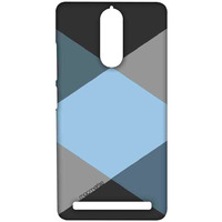 Criss Cross Blugrey - Sublime Case for Lenovo Vibe K5 Note