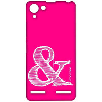 AND Pink - Sublime Case for Lenovo Vibe K5