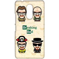 Breaking Bad Caricatures  - Sublime Case for Lenovo K6 Note