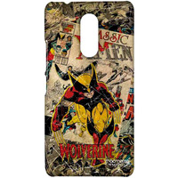 Comic Wolverine - Sublime Case for Lenovo K6 Note