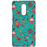 Payal Singhal Chidiya Teal - Sublime Case for Lenovo K6 Note