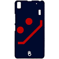 KR Navy Red Smiley - Sublime Case for Lenovo K3 Note