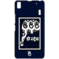 KR Navy White Elephant - Sublime Case for Lenovo K3 Note