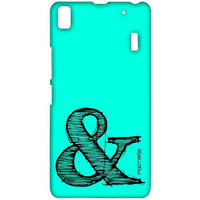AND Teal - Sublime Case for Lenovo K3 Note