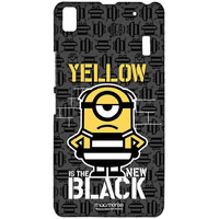 Yellow Black - Sublime Case for Lenovo K3 Note