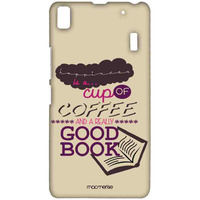 Coffee and Good book - Sublime Case for Lenovo A7000