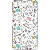 Dreamy Pattern - Sublime Case for Lenovo A7000