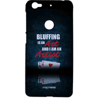 Art of Bluffing - Sublime Case for LeEco Le 1s