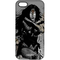 Sketched Wonder Woman - Pro Case for iPhone SE