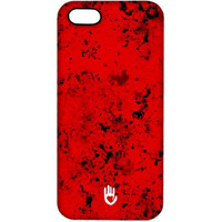KR Red Blotch - Pro Case for iPhone SE