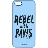 Rebel With Paws  - Pro Case for iPhone SE